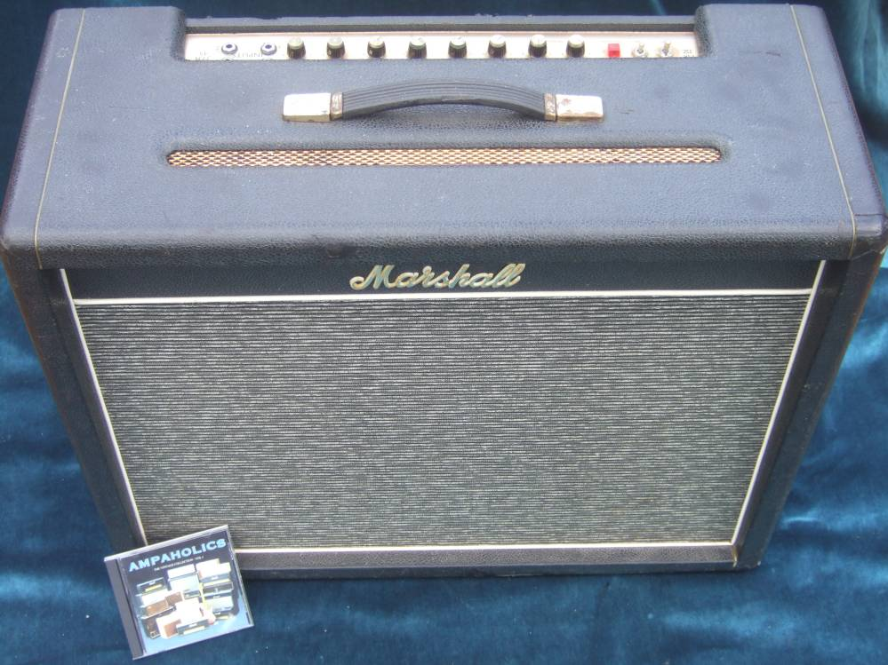 marshall bluesbreaker jtm45 from 1966 with original thames ditton celstions grey pinstripe grill. Black Bedroom Furniture Sets. Home Design Ideas